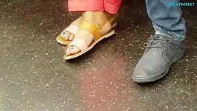 Foot fetish clip...