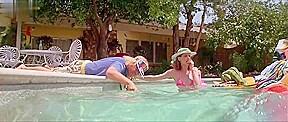 Geena Davis in Earth Girls Are Easy (1988)