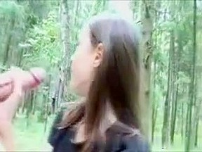 Oral Job on Woods
