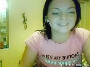 twenty one yo irish girl disrobe on livecam