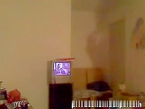 ebon virgin  immature web camera striptease - ameman