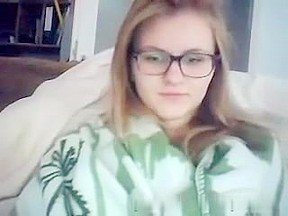 hawt  immature with glasses
