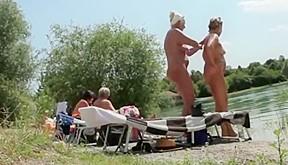 Nude beach 1 voyeur...