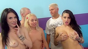Crazy pornstars alby rydes aiden ashley and aaliyah...