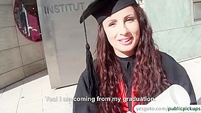 Kerry exposes money her graduation day...