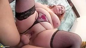 Horny crazy big tits scene...