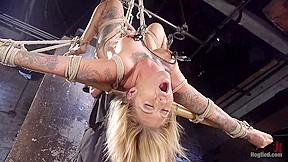 Kleio valentien in stunning tattooed babe endure torment...