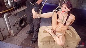 Nikki knightly in newcomer is man handled bound...