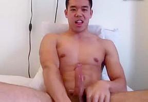 Hottest japanese boy extra huge load finger...