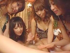 Best japanese model in crazy video...