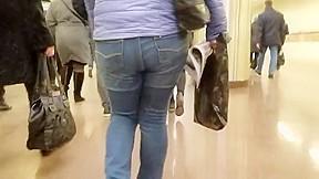 Behind ass...