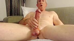 Big cock grandpa cum...