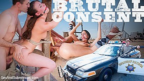 In brutal consent a featured presentation sexandsubmission...
