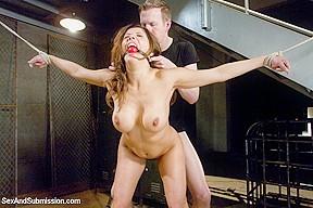 Mark wood brutally punished bondage sexandsubmission...