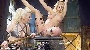 In lesbian electro sex vs electrosluts...