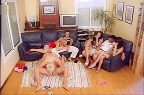 Best pornstar in horny gangbang clip...