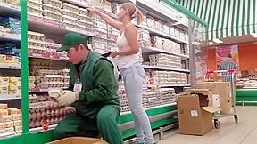 Ass in supermarket...