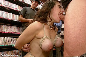 Hot milf with big tits gets disgraced and...