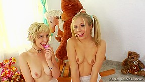 Chastity Lynn and Proxy Page filling their booties full of