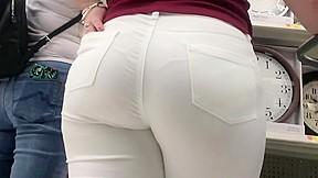 Italian white jeans...