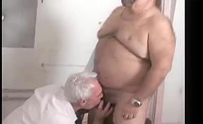 Meeting a hot chub grandpa late in the...