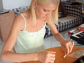 Katerina sz amateur hot blonde...