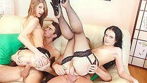 lora in anal foursome noboring...