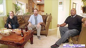 Payton west kneels husbands friend...