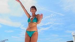 Summer jewel bikini dancing...