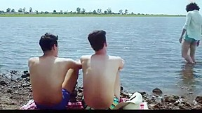 Hot argentinian boys love threesome 2015...