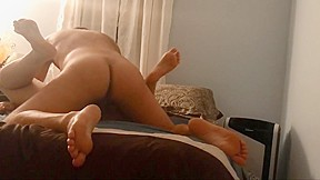 Cock pounds out hot asian...