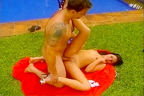 Brazilian chick her boyfriend fuck...