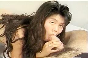 Hawaiian cutie loves mouthing cock fuck...