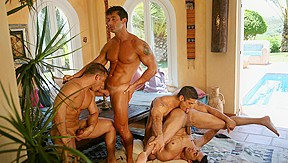 Action, Part 2: Pedro Andreas, Daniel Marvin, Carlos Montenegro  Gustavo Arrango XXX Video:  - FalconStudios