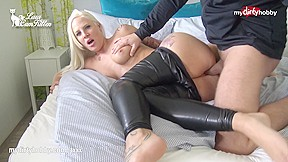 My Dirty Hobby Busty Ass Fucked In Leather Pants