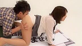 Best Japanese whore Tsubaki Katou, Minami Kazuki in Fabulous Rimming, Creampie JAV scene