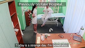 Nurse then his fake hospital...