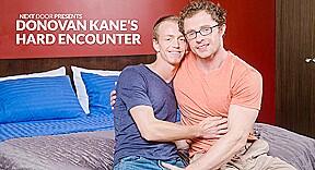Markie More Donovan Kane in Donovan Kane's Hard Encounter - NextDoorBuddies