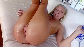 Attractive young blonde ass loves hardcore sex...