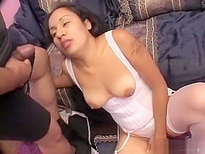 Luscious brunette tina has a tight yearning for...