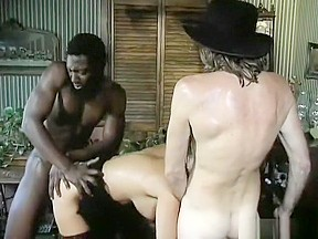 Candy vegas takes care of both a black...