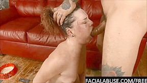 Fucking deepthroat for slut with daddy issues...