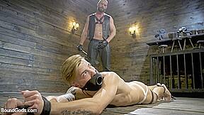 Hunter samson in master samson brutally trains clean...
