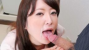 Cheating Wife Noeru Mitsushima Gives Awesome Blowjob Japanhdv