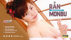 Busty Ran Monbu Getting Two Hard Dicks - Avidolz