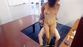 Afternoon office fuck amateurs caught office...