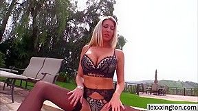 Busty babe lexi lowe gets an sex...