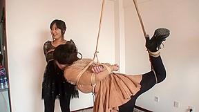 Rope Bondage 2 Chinese Girls