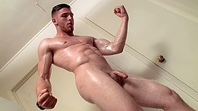 Jock piss with...
