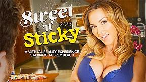 Sweet n sticky featuring aubrey black naughtyamericavr...